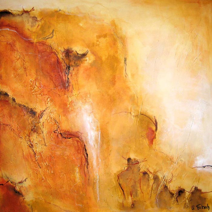 Africa painting on canvas