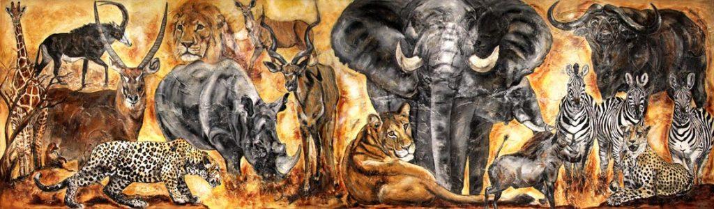 Animal Painting Kerstin Tschech