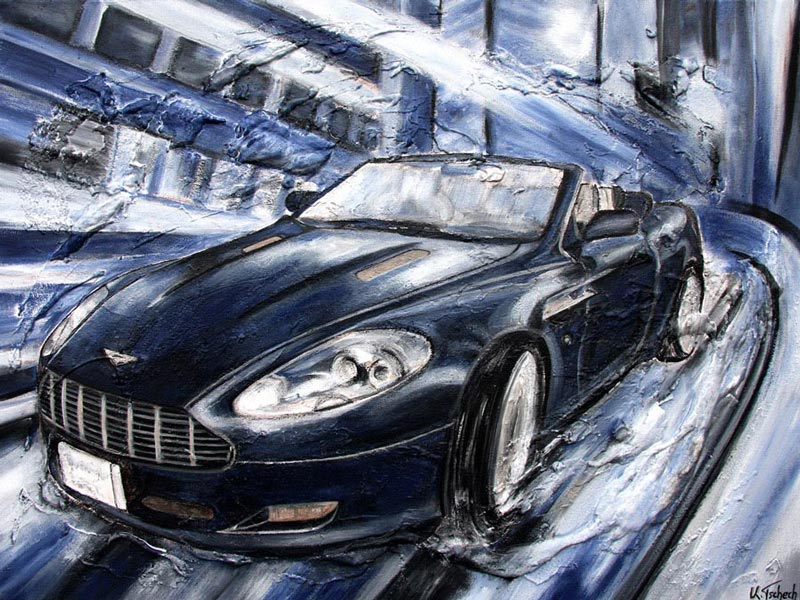 Car commissioned painting
