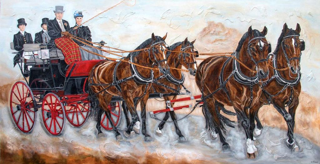 Carriage Painting Commission