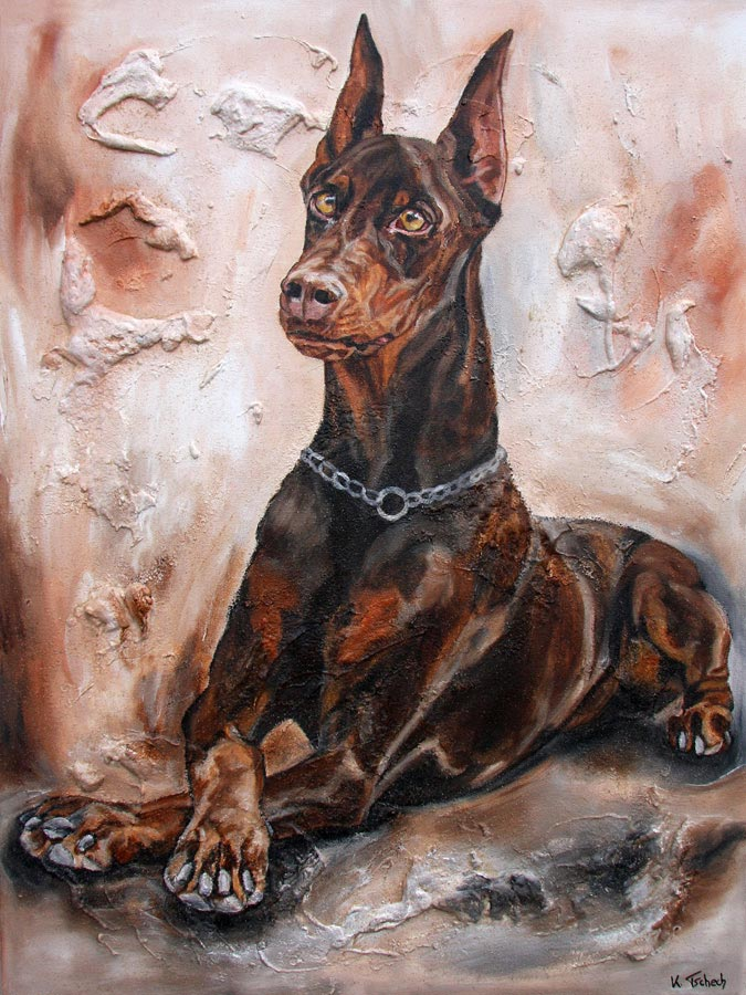Let your dog paint