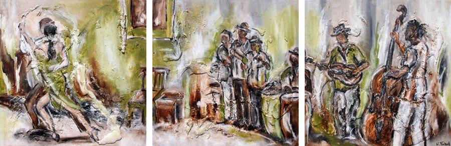 Havanna painting on canvas