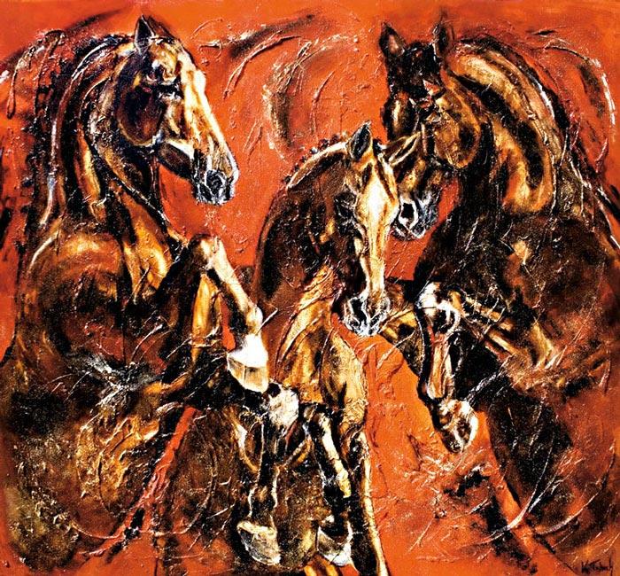 Kerstin Tschech Equine Art
