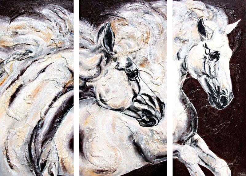 Horse Paintings as Commission