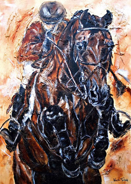 Horse Painting Jumping Shutterfly