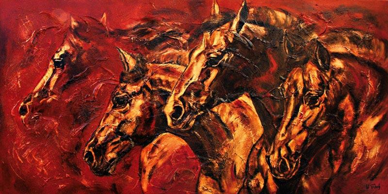 Equestrian Artist Kerstin Tschech