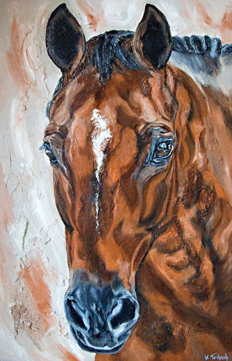 Horse Painting Commissioned work