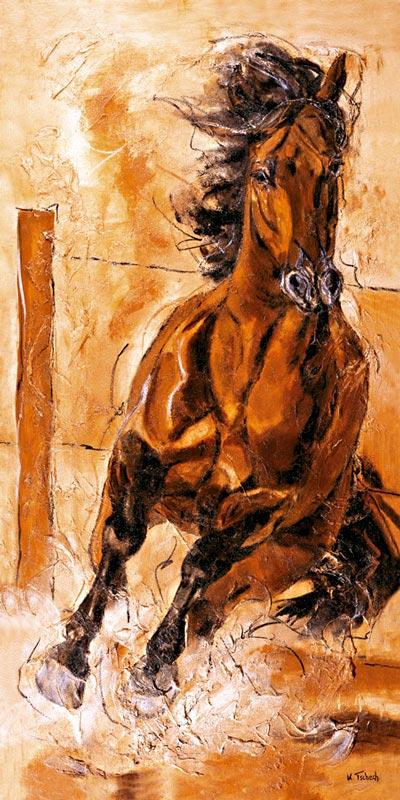 Let your horse paint as commission