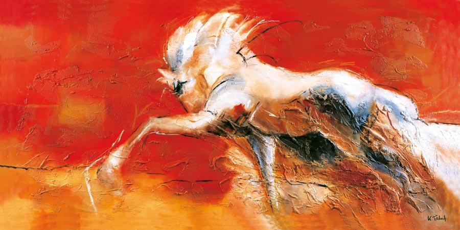 Spanish Horse Painting coloured