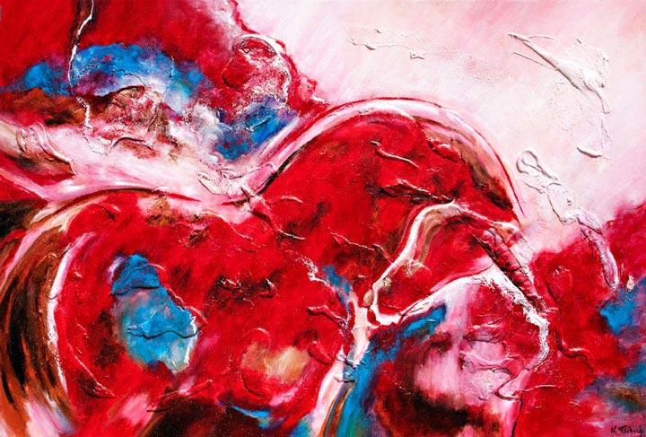 Unicorn painted
