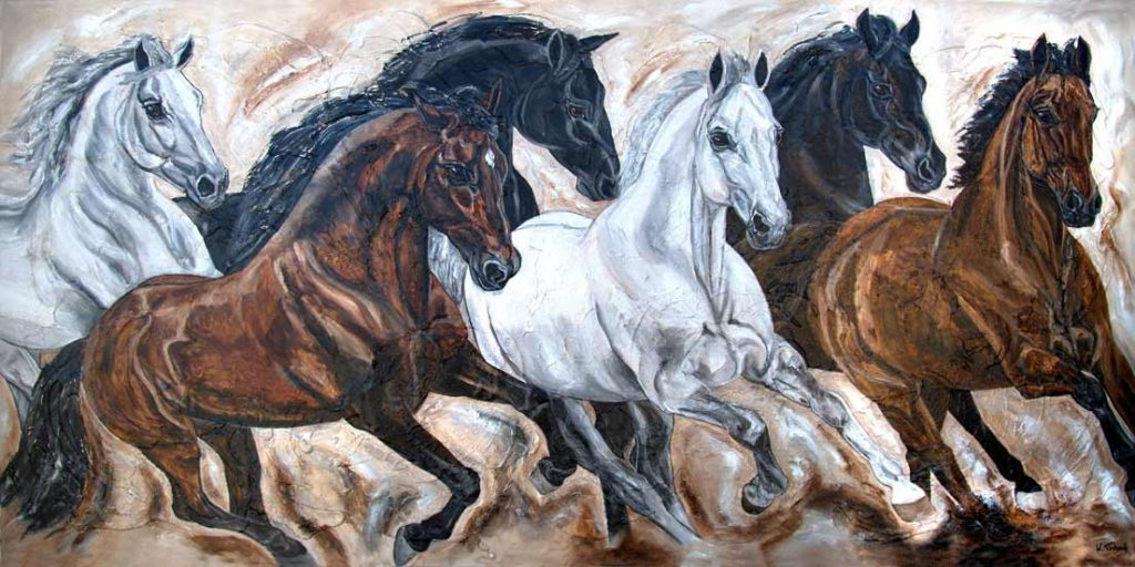 crossbred horseherd